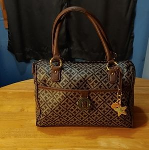 Tommy Hilfiger. Classic. Double Hand Strap. Purse.
